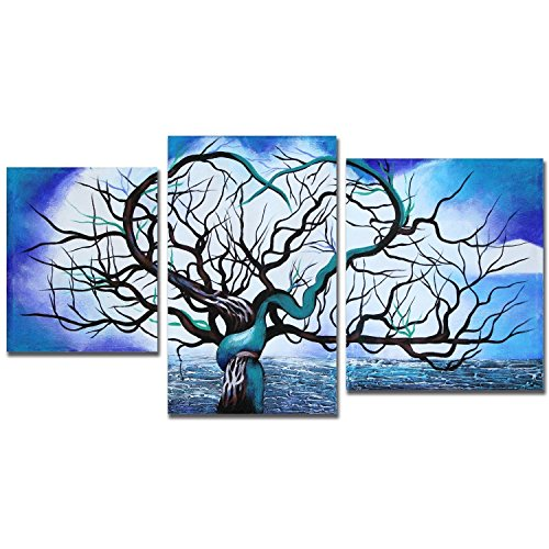 Art Wall ArtWall John Black's 'Origin of Life Tree' 3-Piece Gallery Wrapped Canvas Set