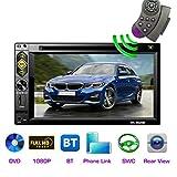 LH 2din 6.2 inch Touch Car DVD Player FM Radio BT