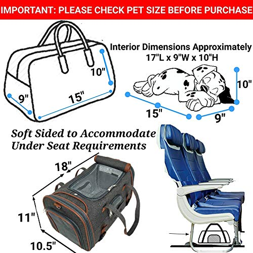 Mr. Peanut's Airline-Approved Soft-Sided Pet Carrier