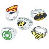 Best DC Comics Kids Stuffs - SmileMakers DC Comic Superhero Rings - Prizes 50 Review