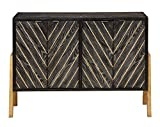 Treasure Trove Four Door Sideboard, Grey and Gold Review