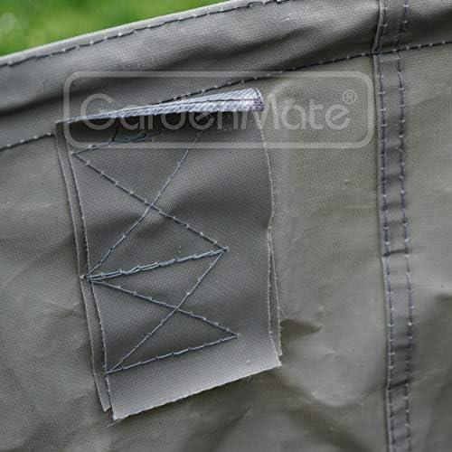 GardenMate 3x Sacs de jardin pop-up 85L en polyester oxford ind/échirable 600D
