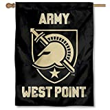 Army Black Knights Athena Shield Double Sided House Flag