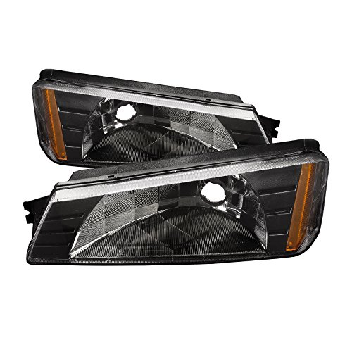 (HEADLIGHTSDEPOT Park Lights Compatible with Chevrolet Avalanche 1500 2500 Includes Left Driver and Right Passenger Side Park Lights)