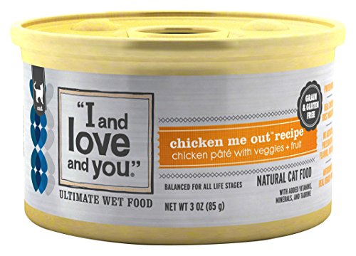 """I and love and you"", All Natural Canned Cat Food"