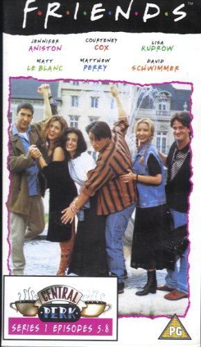 Click for larger image of Friends (Series 1, Episodes 5-8: One VHS)