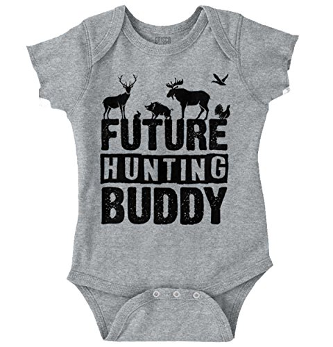 Future Hunting Buddy Deer Hunter Child Romper Bodysuit