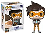 Funko Pop! Games: Overwatch Action Figure Tracer bundled with box protector