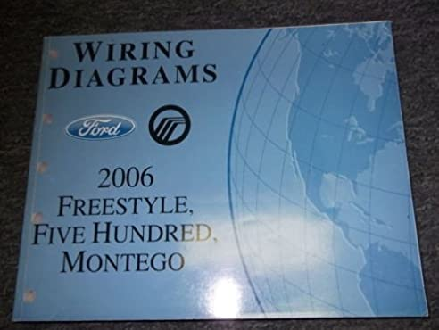2006 ford freestyle 500 montego electrical wiring diagrams 2005 ford five hundred fuse box layout wiring diagram for 2006 ford freestyle