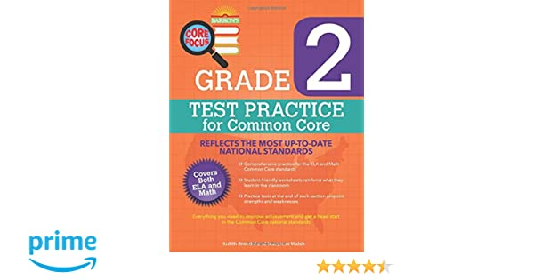 Barron's Core Focus: Grade 2 Test Practice for Common Core ...