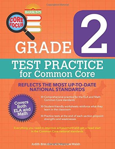 Barron's Core Focus: Grade 2 Test Practice for Common Core ...