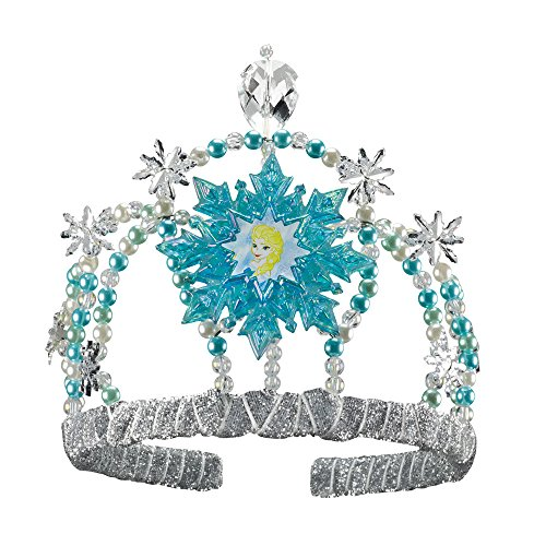 Disguise Disney's Frozen Elsa Tiara Girls Costume, One Size Child (Party Frozen Disney Decorations)