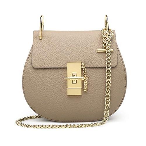 98385bf4d Yoome Punk Style U-Ring Flap Bag Chain Bag Crossbody Envelope Bag Clutch  Mini Bags For Girls: Amazon.co.uk: Shoes & Bags