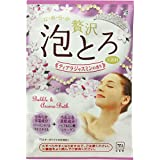 牛乳石鹸共進社 贅沢泡とろ 入浴料 ティアラジャスミンの香り 30g