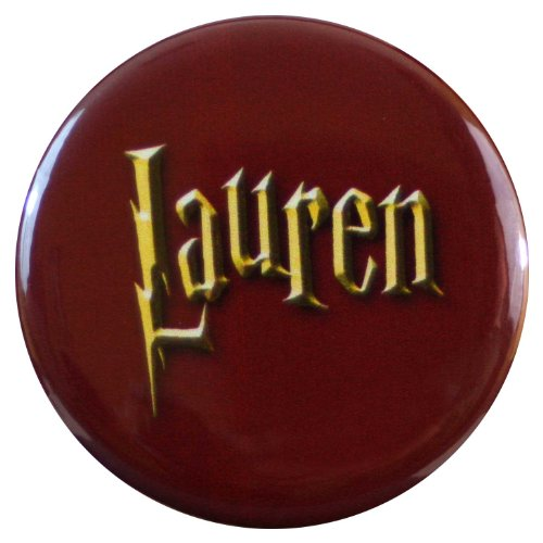 Henry the Buttonsmith Lauren Wizard-themed Name Tag