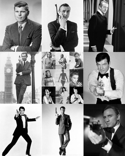 james-bond-007-24x30-poster-collage-9-great-scenes-all-8-bonds-in-one-poster-sean-connery-roger-moor