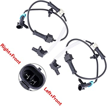 Front Left /& Right ABS Wheel Speed Sensor For Chevrolet Silverado 1500 2500 HD