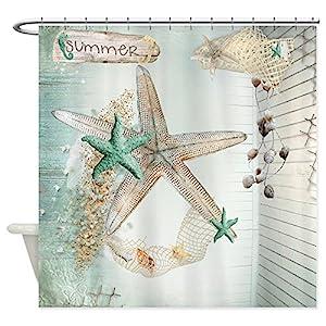 51zHICWTCRL._SS300_ Beach Shower Curtains & Nautical Shower Curtains