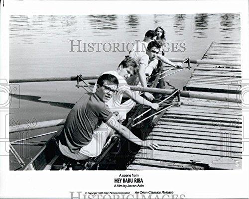 "1987 Hurry Photo Srdjan Todorovic And Dragan Bjelogrlic In ""Hey Babu Riba"""