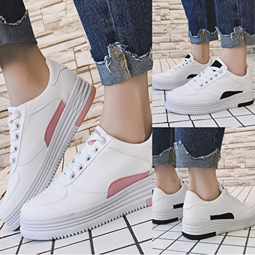 KESEELY Fashion Low Canvas Shoes Mens Lace Up Sports Loafers Casual Flat Mix Color Sneakers