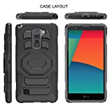 TurtleArmor | Compatible for LG Stylo 3 Case | LG