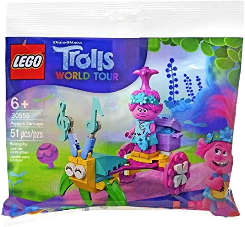 Lego 30555 Trolls World Tour Techno Poppy's Carriage New Sealed
