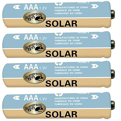 Hampton Bay Landscape AAA Ni-Mh Rechargeable Battery (4-Pack) (Products Hampton Bay)