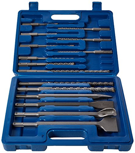 -[ Silverline 196570 SDS Plus Masonry Drill and Steel - Set of 15  ]-
