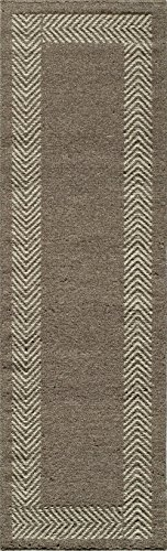 Momeni Rugs MESA0MES-8NAT2380 Mesa Collection, 100% Wool Hand Woven Flatweave Transitional Area Rug, 2'3