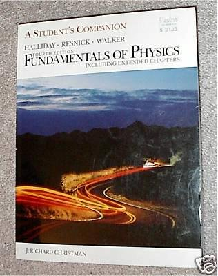 Fundamentals of Physics, Student's Companion including Extended Chapters
