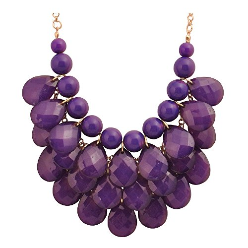 com amazon blue wedding dp purple galactic galaxy cosmic star moon necklace