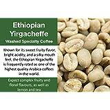 10 Lbs - Yirgacheffe Kochere Debo - Unroasted Washed Ethiopia Coffee