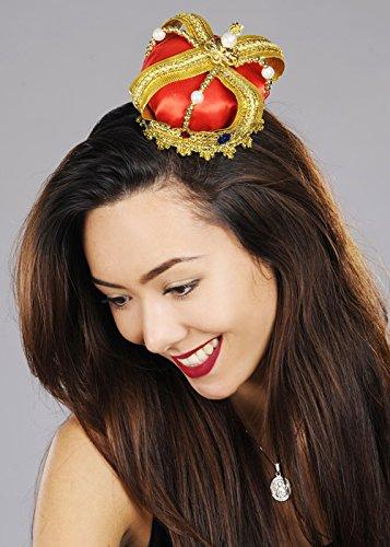 Struts Fancy Dress Deluxe Royal Mini Crown Headpiece