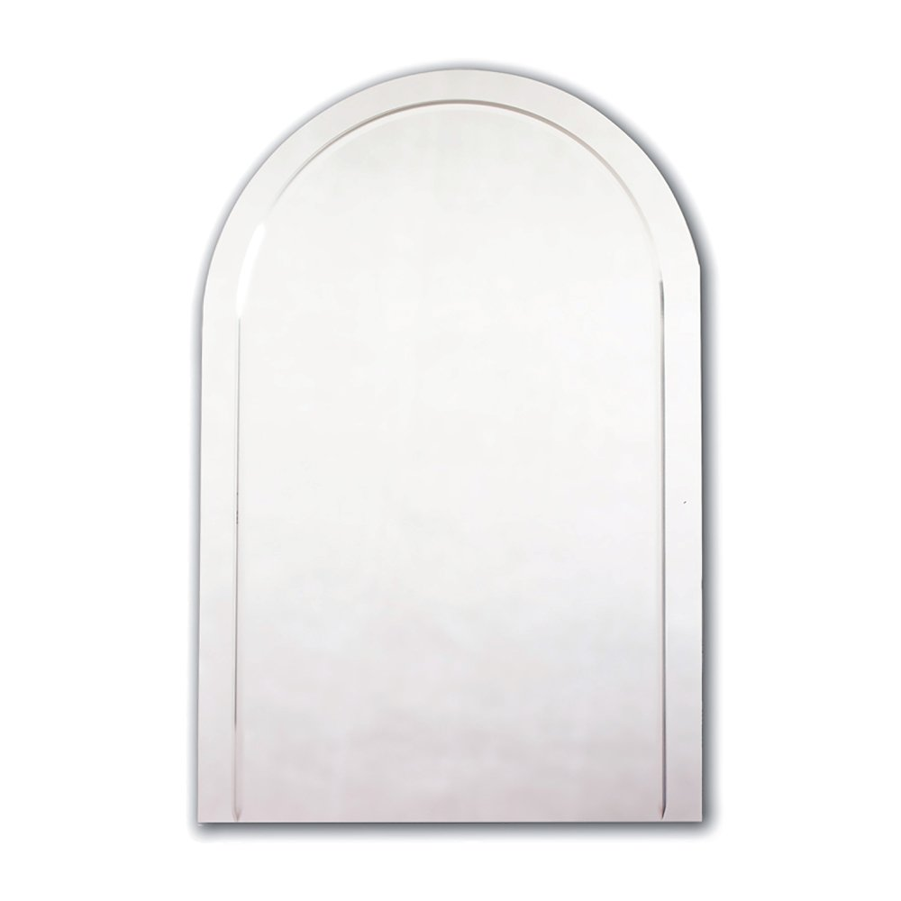 Crystal Cut Arched Mirror 600mm X 400mm By JL Bathrooms Amazoncouk Kitchen Home