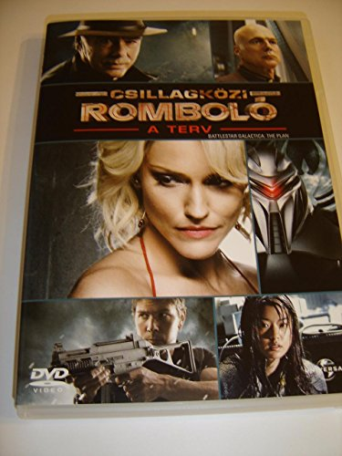 Csillagközi romboló: A terv (2009) Battlestar Galactica: The Plan / HUNGARIAN and POLISH Audio / English, Hungarian and Polish Subtitles [European DVD Region 2 PAL]