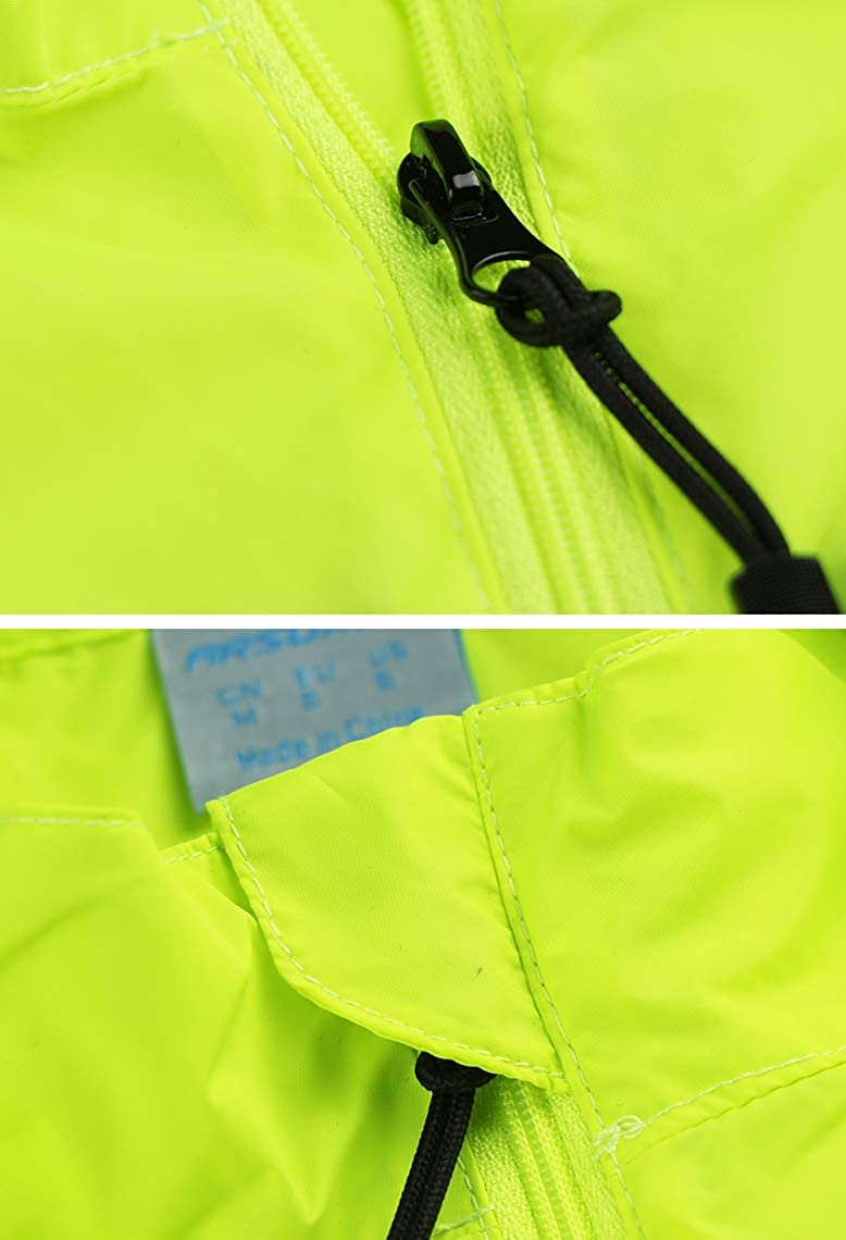 Lakaka Men Cycling Gilet Running Vest Lightweight Sleeveless Coat Breathable Windproof