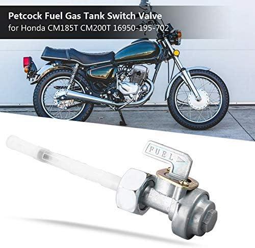 14mm*1mm Petcock Fuel Gas Tank Switch Valve OE:16950-195-702 Suuonee Fuel Tank Switch Valve