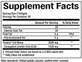 Natural Factors - CLA Tonalin 1000mg, Promotes Increased Muscle Retention & Energy Levels, 60 Soft Gels