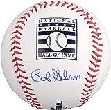 Bob Gibson St. Louis Cardinals Autographed HOF Logo Baseball - Fanatics Authentic Certified - Autographed Baseballs