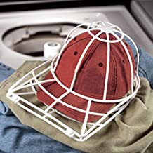 Iuhan Cap Washer Baseball Hat Cleaner Cleaning Protector Ball Cap Washing Frame Cage (White)