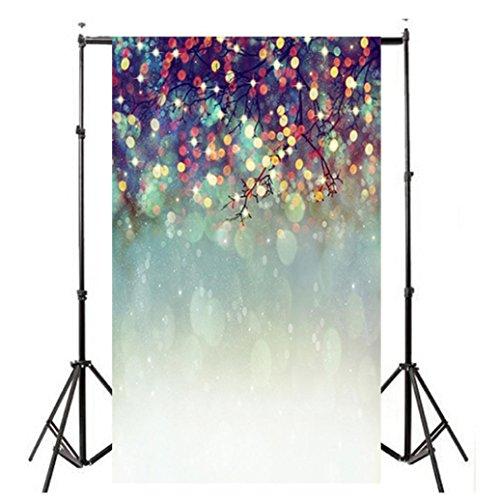 Wensltd Clearance! Vinyl Wood Wall Floor Photography Studio Prop Backdrop Background 3x5FT (A-2)