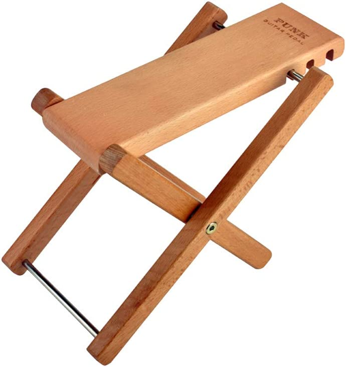 Folding Classical Guitar Foot Rest with Solid Wood Anti-skid Guitar Foot Rest Pedal Bnineteenteam Wood Guitar Footstool