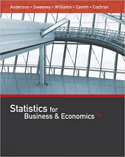 Bundle: Modern Business Statistics with Microsoft Office Excel, 6th + XLSTAT Education Printed Access Card + MindTap Business Statistics with XLSTAT, 1 term (6 months) Printed Access Card