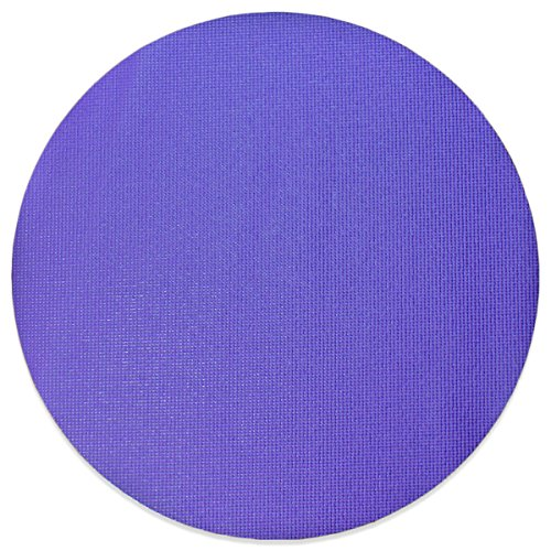 YogaAccessories Non Slip Extra Thick 2 Foot Circular Yoga Ma