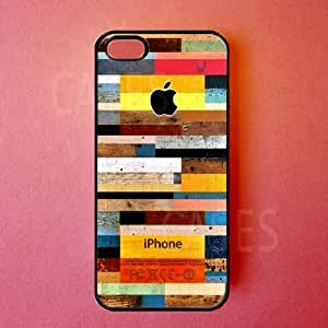 iphone 5s Case - Colorful Wood iphone 5s Cover