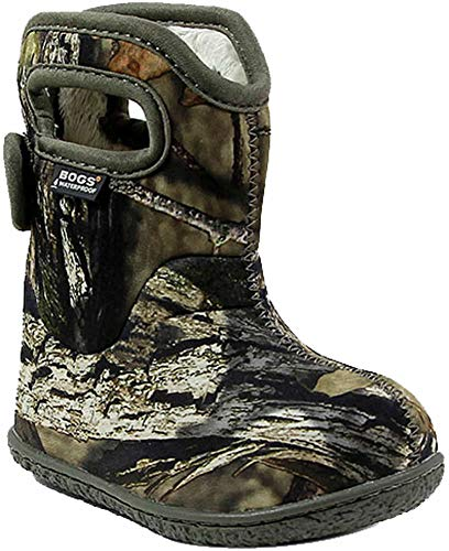 Bogs Baby Bogs Waterproof Insulated Toddler/Kids Rain Boots for Boys and Girls, Camo Print/Mossy Oak, 6 M US Toddler