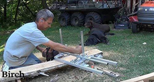 TTF Chainsaw Mill Attachment Chainsaw Milling Planking Milling Bar Planking Cutting Guide Bar Chainsaw Mill Guide Sawmill For Chainsaw Portable Chain Sawmill Attachment (14''-36'') by TTF (Image #2)