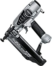 Hitachi NT65M2S 16-Gauge Finish Nailer with Integrated Air Duster, 2-1/2-Inch, Silver (Discontinued by the Man