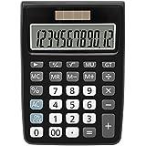 Calculators, BESTWYA 12-Digit Dual Power...