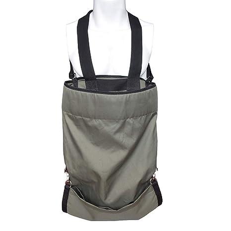 Amazon.com: Yunhigh Delantal de jardín con bolsillo profundo ...